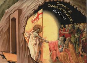Chrystus Zmartwychwstał! Alleluja! Kartki Wielkanocne - 2846884056