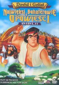 Najwięksi Bohaterowie i Opowieści Biblii - Dawid i Goliat DVD - 2832212231