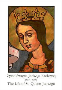 Życie Świętej Jadwigi Królowej kolorowanka - 2832212414