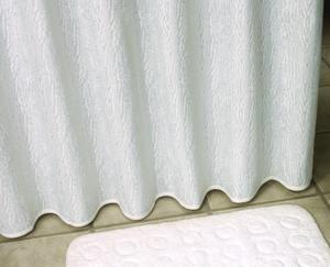 Zasłonka prysznicowa 180X200 cm Clarion Weiss - 2824322232