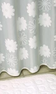 zasłonka prysznicowa 180X200 cm Daisy Weiss - 2824322233