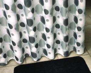 Jolly grau zasłonka pryszniocowa 180x200cm - 2824322507