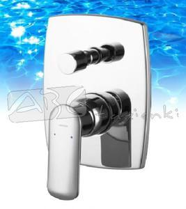 Omnires bateria wannowa podtynkowa kompletna Ebro EB2135 - 2846790950