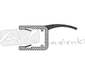 RIHO 562010001 uszczelka pionowa szkło/szkło na szybę 8mm L2010 - 2824326517