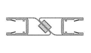 RIHO 562020003 uszczelka magnetyczna na szybę 8mm 180 stopni L2010 - 2824326520