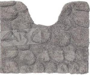 Sealskin Pebbles 294416414 dywanik łazienkowy 50x60 z wycięciem na wc szary - 2824327710