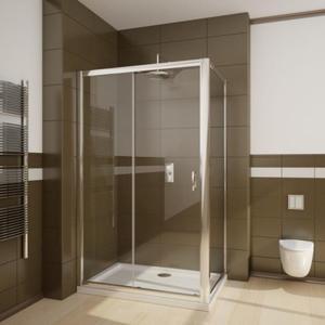 Radaway Premium Plus DWJ+S drzwi przesuwne przejrzyste 130cm+ ścianka S -rozmiar do wyboru - 2824327938