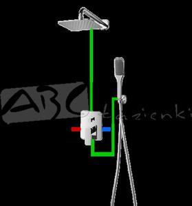 Omnires Apure AP10 kompletny łazienkowy system podtynkowy - 2824329207