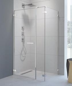 Radaway Arta KDS I kabina prysznicowa front 100cm lewy 386620-03-01L, 386100-03-01L + ścianka S2. Dostawa gratis! - 2883649566
