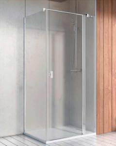 Radaway Nes KDJ II kabina kwadratowa/prostokątna drzwi 110 prawe + ścianka, szkło przejrzyste. Dostawa gratis! - 2883649888