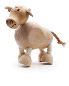 Anamalz - Figurka byka - zabawki drewniane Anamalz - BU2010 - 2828044417