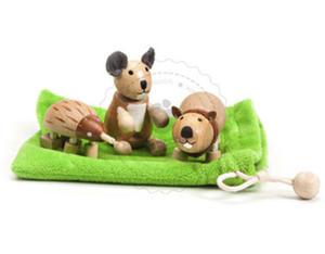 Anamalz - Australijski zestaw figurek - zabawki drewniane Anamalz - AP2010 - 2828044605