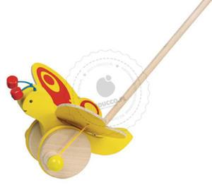 GOKI - Motyl GOKI do pchania - zabawki do pchania - 54996 - 2828044648