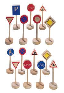 GOKI - Drewniane znaki drogowe - GK WM397 - 2828044749