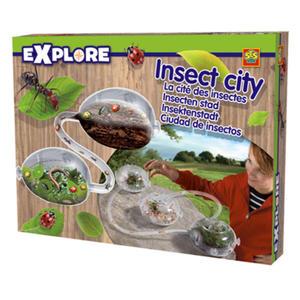 SES Creative - zabawki kreatywne, zabawki plastyczne, zestawy do malowania i modelowania, zabawki edukacyjne - Mrówkarium - akwarium do obserwacji owadów - 25005 - 2828044729