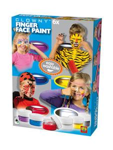 SES Creative - zabawki kreatywne, zabawki plastyczne, zestawy do malowania i modelowania, zabawki edukacyjne - Kremowe farby do malowania twarzy - 09611 - 2828044779