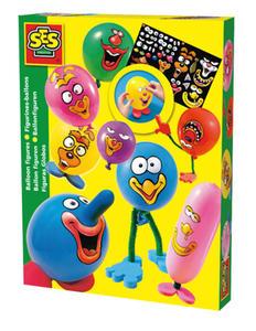 SES Creative - zabawki kreatywne, zabawki plastyczne, zestawy do malowania i modelowania, zabawki edukacyjne - Balonikowe stworki - zabawki kreatywne - 00959 - 2828044781