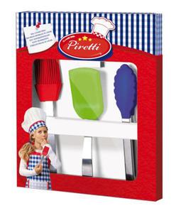 SES Creative - zabawki kreatywne, zabawki plastyczne, zestawy do malowania i modelowania, zabawki edukacyjne - Prawdziwe przybory kuchenne - 09422 - 2828044769