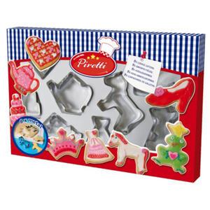 SES Creative - zabawki kreatywne, zabawki plastyczne, zestawy do malowania i modelowania, zabawki edukacyjne - Foremki do wycinania ciasteczek - 09428 - 2828044770