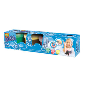 SES Creative - zabawki kreatywne, zabawki plastyczne, zestawy do malowania i modelowania, zabawki edukacyjne - Stempelki z farbami do malowania w kąpieli - zabawy w wodzie - 13035 - 2828044828