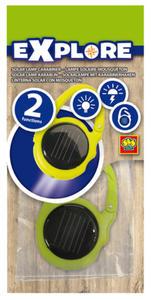 SES Creative - zabawki kreatywne, zabawki plastyczne, zestawy do malowania i modelowania, zabawki edukacyjne - Latarka solarna dla podróżnika - seria Explore - 25055 - 2828044796