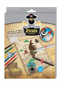 SES Creative - zabawki kreatywne, zabawki plastyczne, zestawy do malowania i modelowania, zabawki edukacyjne - Magiczna mapa skarbów - 09861 - 2828044797
