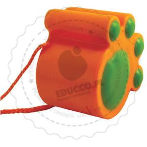 Educo - Kocie stopy (pomarańczowe) - zabawki do piaskownicy - 821384 - 2828044483