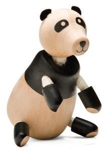 Anamalz - Figurka misia Panda - zabawki drewniane Anamalz - PA2010 - 2828044422