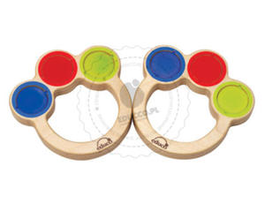Educo - Drewniane Marakasy - zabawki edukacyjne - 861362 - 2828044453