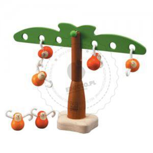 Plan Toys - Balansujące małpki, Plan Toys - zabawki edukacyjne - PLTO-5349 - 2828044408