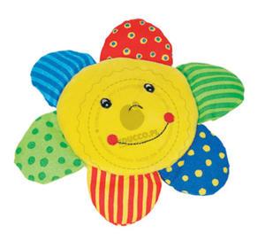 GOKI - Grzechotka - wesołe słoneczko - zabawki dla niemowląt - 65100 - 2828044487