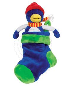 GOKI - Przytulanka - ptaszek mieszkający w skarpecie - zabawki pluszowe - 50020_1 - 2828044529