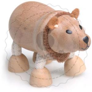 Anamalz - Figurka niedźwiedzia - zabawki drewniane Anamalz - BE2010 - 2828044410