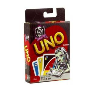 Karty Uno Monster High Mattel - 2832622112