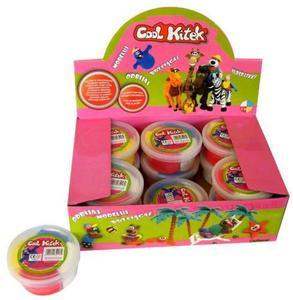 Cool Kitek modelina masa plastyczna 4 kolory - 2843710830