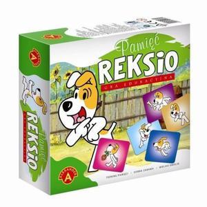 Gra edukacyjna pamięć Reksio Alexander - 2832622620