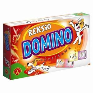 Domino Obrazkowe Reksio Alexander - 2832622626