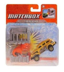 Matchbox Pojazd T-Rex Escape Y9252 Mattel - 2832622720