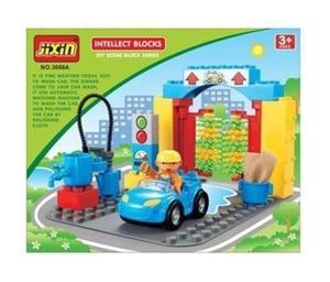 Klocki Auto Myjnia Jixin 16 el. - 2857570465