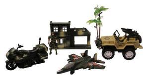 Zestaw Wojskowy Militarny Figurka i Pojazdy - 2832623355