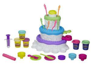 Play-Doh Ciastolina tort urodzinowy A7401 - 2832623515