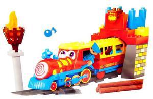 Kolejka na Baterie Mały Pociąg z Tunelem Jixin - 2857570477