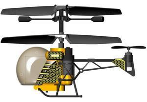 Helikopter I/R Heli Bee Żołty 84657 Silverlit - 2847420035