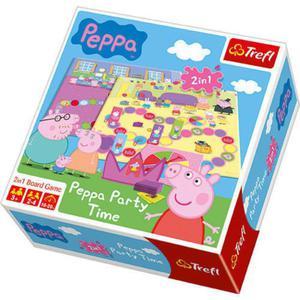 Gra 2w1 Peppa Party Time TREFL - 2847615804