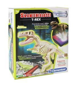 Skamieniałości T-Rex Fluo Clementoni - 2843987393