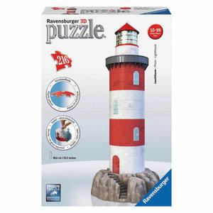 Puzzle 3D 216 el. Latarnia Morska Ravensburger - 2837605075