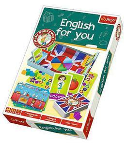 Gra edukacyjna English for you Trefl - 2847615828