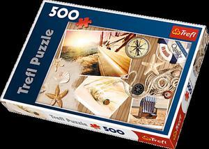 Puzzle 500el Witamy na Pokładzie Trefl 37239 - 2856016406