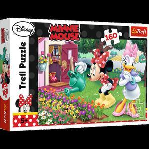 Puzzle 160el. Podlewanie Kwiatków Minnie Trefl - 2851020862