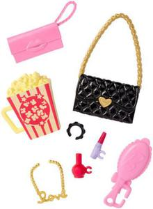 Barbie modne akcesoria do kina Mattel DWD71 - 2846892865
